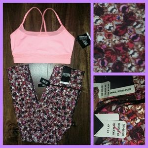 Nwt xs workout set vsx